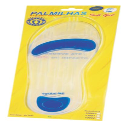 Imagem 2 do produto PALMILHA SOB GEL ESPECIAL 13002 ORTHO PAUHER - 40/41