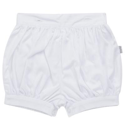 Imagem 5 do produto Camisa Colete, Shorts e Boné em tricoline Branco - Sylvaz - SZ273 Conjunto Curto Colete Batizado Branco-M