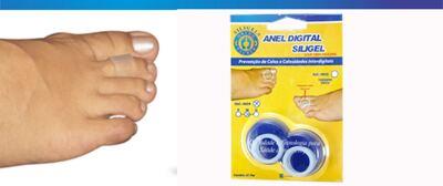 Imagem 2 do produto Anel Digital Siligel 4004 Ortho Pauher - P