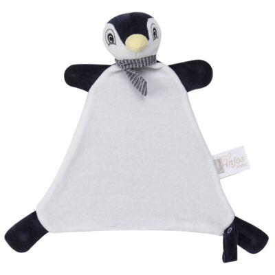 Imagem 6 do produto Kit: Bichinho Chocalho + Naninha Chocalho para bebe Pinguim - Anjos Baby