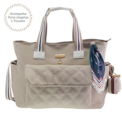 Imagem 1 do produto Bolsa para bebe Sú Náutica Marfim - Masterbag