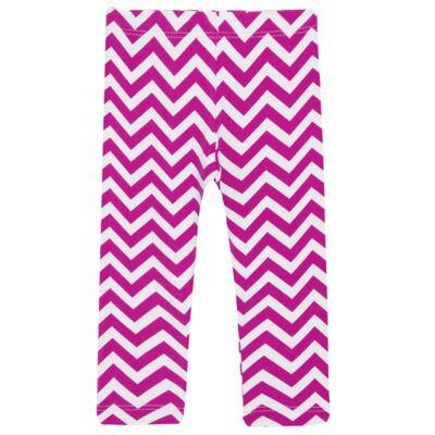 Imagem 2 do produto Legging c/ Faixa de cabelo para bebe em lycra Chevron Pink - Letiti - LTT03 LEGGING FAIXA LUMA PINK-4