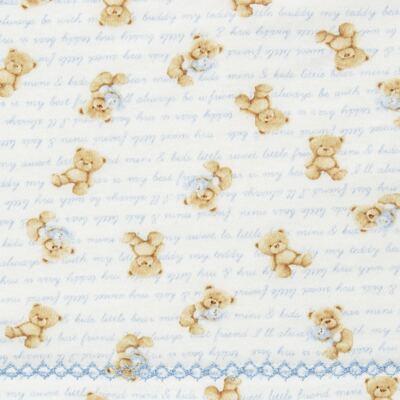 Imagem 2 do produto Colchão para carrinho em malha Maternity Blue Bear - Classic for Baby