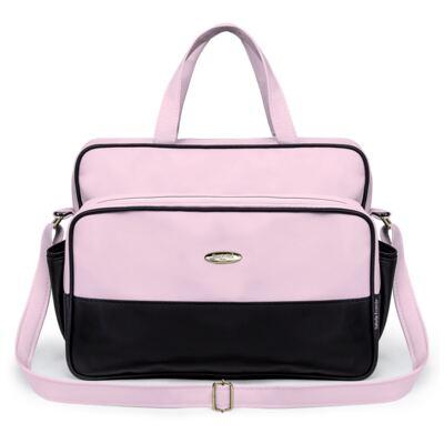 Imagem 2 do produto Kit Bolsa maternidade para bebe + Frasqueira Preto/Rosa Unique - Classic for Baby Bags