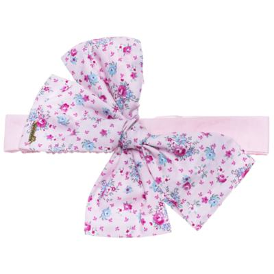 Imagem 3 do produto Pack: 2 Faixas Maxi Laço em tricoline Pink/Floral - Roana