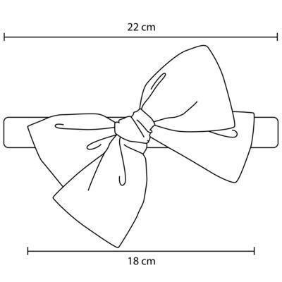 Imagem 6 do produto Pack: 2 Faixas Maxi Laço em tricoline Pink/Floral - Roana