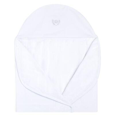 Imagem 2 do produto Toalha com capuz Coroinha Branca - Classic for Baby