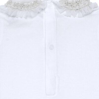 Imagem 6 do produto Conjunto Pagão Yasmine: Casaqueto em tricoline + Body longo + Calça - Roana