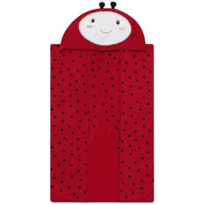 Imagem 3 do produto Toalha de vestir com capuz Ladybug - Classic for Baby