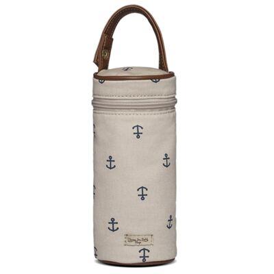 Imagem 1 do produto Porta Mamadeira para bebe em sarja Navy Caqui - Classic for Baby Bags