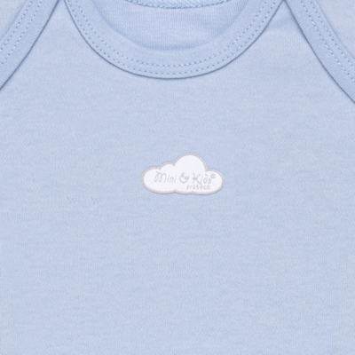 Imagem 2 do produto Camiseta manga curta em suedine Baby Protect Azul - Mini & Kids - CMTC1735 CAMISETA TRANSP. MC SUEDINE AZUL-P