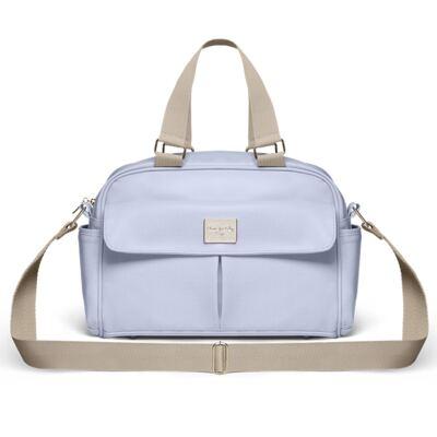 Imagem 1 do produto Bolsa maternidade para bebe Marseille Nácar Azul  - Classic for Baby Bags