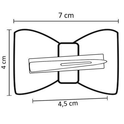 Imagem 3 do produto Presilha Laço em gorgurão Marfim - Roana