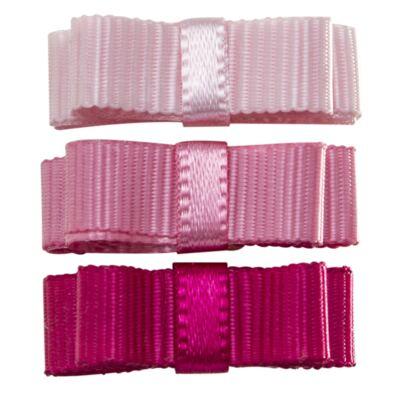 Imagem 1 do produto Laço c/ velcro em gorgurão Rosa - Roana