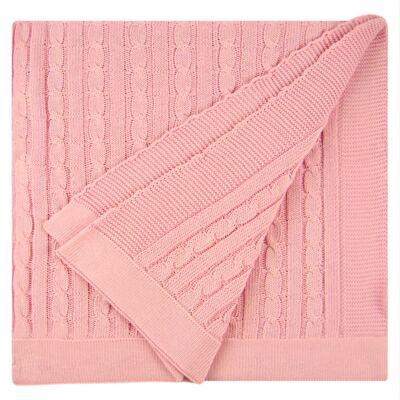 Imagem 2 do produto Manta em tricot La Principessa - Baby Classic