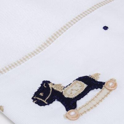 Imagem 2 do produto Toalha Fralda para bebe Little Horse - Roana
