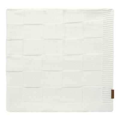 Imagem 1 do produto Manta para bebe em tricot Mosaic Branca - Mini Sailor