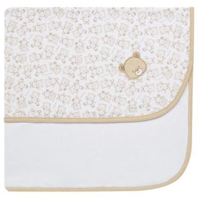 Imagem 1 do produto Manta para bebe em algodão egípcio c/ jato de cerâmica Nature Little Friends - Mini & Classic