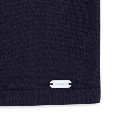 Imagem 3 do produto Cardigan em tricot Lacinhos Marinho - Missfloor