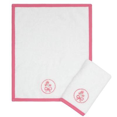 Imagem 1 do produto Kit com 2 fraldas de boca atoalhadas Bouquet - Classic for Baby