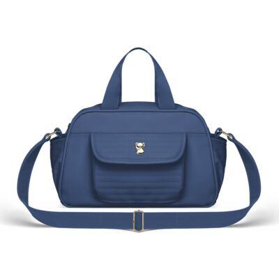 Imagem 3 do produto Bolsa + Frasqueira para Bebê Lines Marinho - Classic for Baby Bags