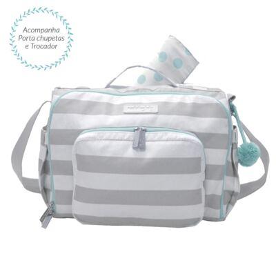 Imagem 1 do produto Bolsa para 2 em 1 bebe Julie Candy Colors Menta - Masterbag