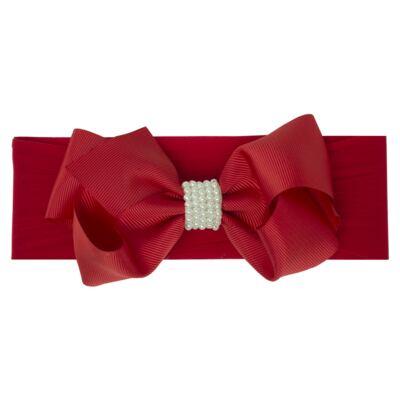 Imagem 1 do produto Faixa meia Maxi Laço gorgurão Vermelha - Roana