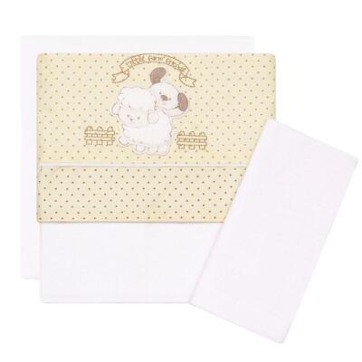 Imagem 1 do produto Jogo de lençol para carrinho em malha Farm - Classic for Baby