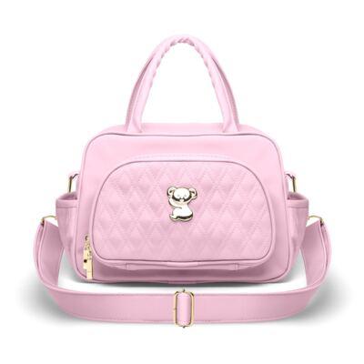 Imagem 1 do produto Bolsa Térmica para bebe Milão Golden Koala Rosa - Classic for Baby Bags