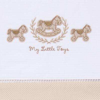 Imagem 2 do produto Jogo de lençol para berço em malha Little Toys - Classic for Baby