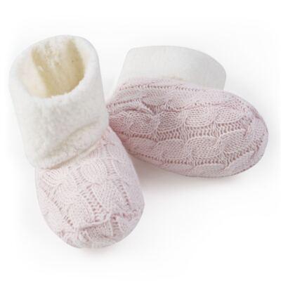 Imagem 3 do produto Botinha para bebe pelúcia & tricot Rosa - Petit