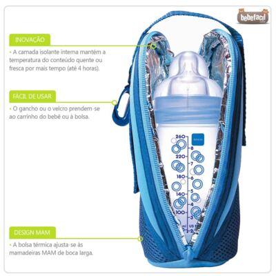 Imagem 2 do produto Bolsa Térmica Thermal Bag Pink - MAM
