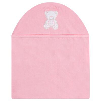 Imagem 1 do produto Toalha com capuz para bebe Ursinha - Classic for Baby
