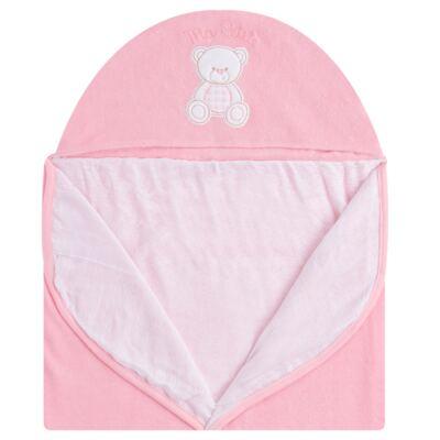 Imagem 2 do produto Toalha com capuz para bebe Ursinha - Classic for Baby