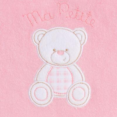 Imagem 4 do produto Toalha com capuz para bebe Ursinha - Classic for Baby