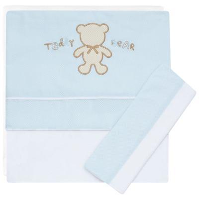 Imagem 1 do produto Jogo de lençol para berço em malha  Teddy Bear - Classic for Baby