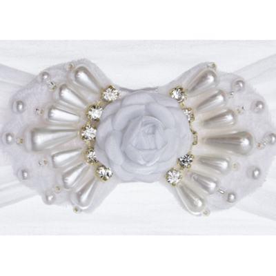 Imagem 2 do produto Faixa meia Laço Branco - Roana