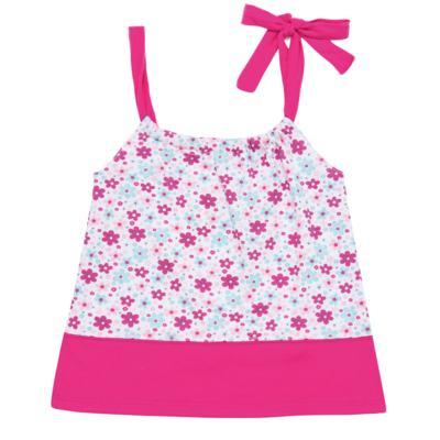 Imagem 1 do produto Vestido para bebe em malha Little Cute - Vicky Lipe - 22771362 VESTIDO ALCINHA MALHA ELEFANTINHO-3