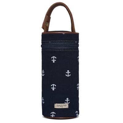 Imagem 1 do produto Porta Mamadeira para bebe em sarja Navy Marinho - Classic for Baby Bags