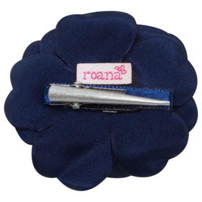 Imagem 2 do produto Presilha em cetim Flor Marinho - Roana