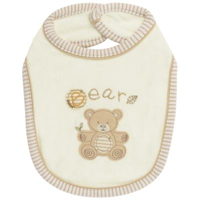 Babador para bebe atoalhado Nature Little Friend Bear - Classic for Baby
