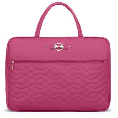 Imagem 1 do produto Mala maternidade para bebe Laços Matelassê Pink - Classic for Baby Bags