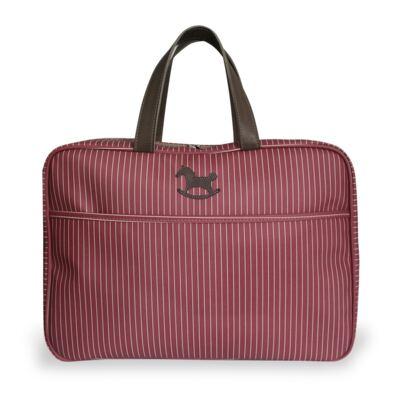 Imagem 1 do produto Mala maternidade Vermelho Stone - Masterbag