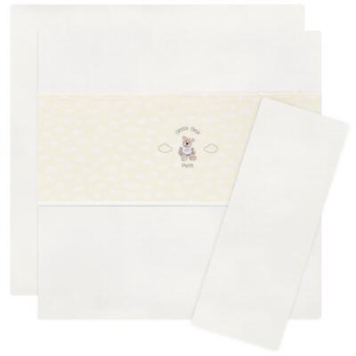 Imagem 1 do produto Jogo de lençol para berço em malha Ursinho - Petit