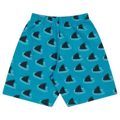 Imagem 3 do produto Camiseta mescla com Bermuda tactel Tutubarão - Livy