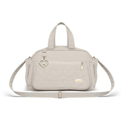 Imagem 3 do produto Bolsa + Frasqueira para Bebê Hearts Marfim - Classic for Baby Bags