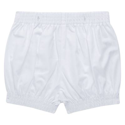 Imagem 6 do produto Camisa Colete & Gravata com Shorts em tricoline Branco - Sylvaz - SZ487 CONJUNTO CURTO BATIZADO C/ COLETE E GRAVATA-G