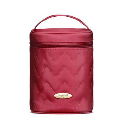 Imagem 1 do produto Bolsa Térmica para bebe Firenze Chevron Rubi - Classic for Baby Bags
