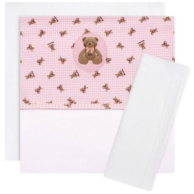Imagem 1 do produto Jogo de lençol para berço em malha Teddy Sammy - Classic for Baby