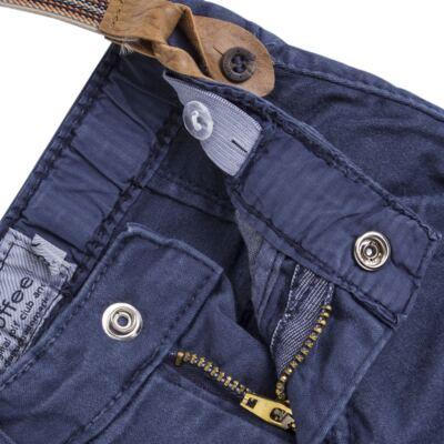 Imagem 3 do produto Calça & Suspensório jeans masculina para bebê Denim - Toffee & Co. - 4253 CALÇA BABY SAR SUSP MASC SARJA AZUL ESCURO-M